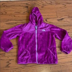 The North Face Magenta Osito zip up Fall Jacket 18